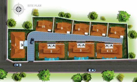 Tridentia Galeria Residences Site Plan F1