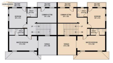 Villa4 First Floor Plan