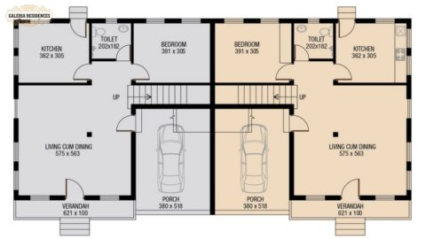 Villa4 Ground Floor Plan