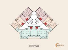 Typical Floor Plan – Bldg B, C, D & E