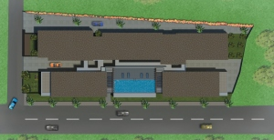 Tridentia Prudential Panache Top View Terrace Swimming Pool