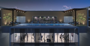 Prudential Panache Swimming Pool and Gym facility