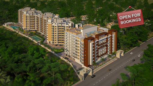 Tridentia Panache a project by Tridentia Developers offering spacious 2, 3 and 4 BHK flats and apartments at Gogol Margao Goa is now open for bookings. It is the most sought after destination for luxury spacious apartments in Margao, Goa.