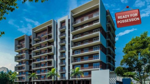 Tridentia's Prudential Petunia a project by Tridentia Developers offering spacious 2 and 3 BHK flats and apartments at Gogol Margao Goa is now ready for possession. Experience the change in a major residential hub in Margao, Goa.