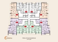 Typical Floor Plan – Bldg A